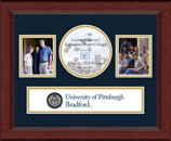University of Pittsburgh at Bradford Photo Frame - Lasting Memories Banner Collage Photo Frame in Sierra