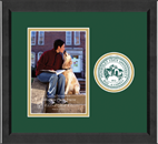 Humboldt State University  Photo Frame - 5'x7' - Lasting Memories Circle Logo Photo Frame in Arena