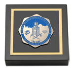 Eastern Oklahoma State College Paperweight - Masterpiece Medallion Paperweight