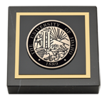 University of Idaho Paperweight - Masterpiece Medallion Paperweight