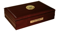 Middle Georgia College Desk Box - Gold Engraved Medallion Desk Box
