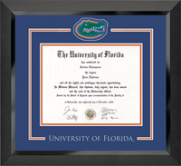 University of Florida Diploma Frame - Spirit Medallion Diploma Frame in Eclipse