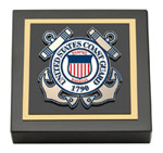 United States Coast Guard Paperweight - Masterpiece Medallion Paperweight