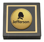 Thomas Jefferson University Paperweight - Gold Engraved Logo Medallion Paperweight