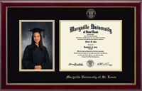 Maryville University of St. Louis Diploma Frame - Gold Embossed Photo and Diploma Frame in Gallery