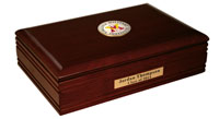 Virginia Military Institute Desk Box - Masterpiece Medallion Desk Box