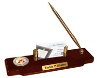 Virginia Military Institute Desk Pen Set - Masterpiece Medallion Desk Pen Set