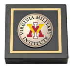 Virginia Military Institute Paperweight - Masterpiece Medallion Paperweight
