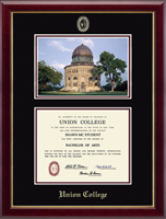 Union College in New York Diploma Frame - Campus Scene Edition Diploma Frame in Gallery