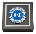 American Kennel Club Paperweight - Masterpiece Medallion Paperweight