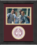 Texas A&M University Photo Frame - 4'x6' - Lasting Memories Circle Logo Photo Frame in Arena