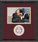 Texas A&M University Photo Frame - 5'x7' - Lasting Memories Circle Logo Photo Frame in Arena
