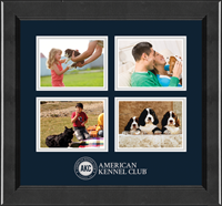 American Kennel Club Photo Frame - Lasting Memories Quad Photo Frame in Arena