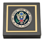 Supreme Court of the United States Paperweight - Masterpiece Medallion Paperweight