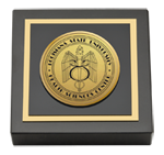 Louisiana State University Health Sciences Center Paperweight - Gold Engraved Medallion Paperweight