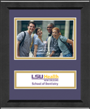 Louisiana State University Health Sciences Center Photo Frame - Lasting Memories Banner Photo Frame in Arena