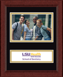 Louisiana State University Health Sciences Center Photo Frame - Lasting Memories Banner Photo Frame in Sierra