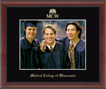 Medical College of Wisconsin Photo Frame - Embossed Photo Frame in Signet