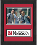 University of Nebraska Photo Frame - Lasting Memories Banner Photo Frame in Arena