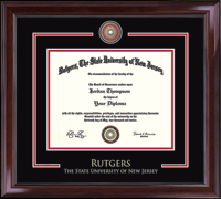 Rutgers University, The State University of New Jersey Diploma Frame - Showcase Edition Diploma Frame in Encore