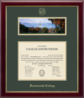Dartmouth College Diploma Frame - Campus Scene Edition Diploma Frame in Gallery
