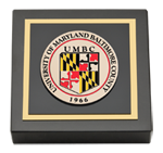 University of Maryland, Baltimore County Paperweight - Masterpiece Medallion Paperweight
