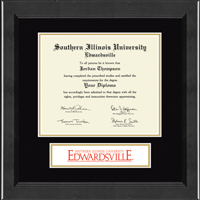 Southern Illinois University at Edwardsville Diploma Frame - Banner Edition Diploma Frame in Arena