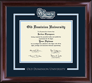 Old Dominion University Diploma Frame - Spirit Medallion Diploma Frame in Encore