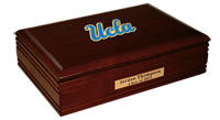 University of California Los Angeles Desk Box - Spirit Medallion Desk Box