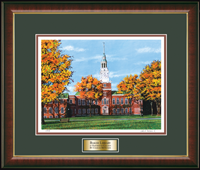 Dartmouth College Diploma Frame - Framed Limited Edition Lithograph in Murano