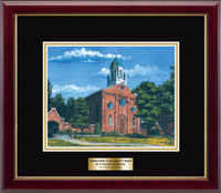 University of Dayton Lithograph Frame - Framed Lithograph in Gallery