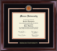 Mercer University Diploma Frame - Showcase Edition Diploma Frame in Encore