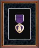 United States Coast Guard Medal Frame - Purple Heart Medal Frame in Newport