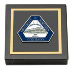 University of Northern Colorado Paperweight - Masterpiece Medallion Paperweight