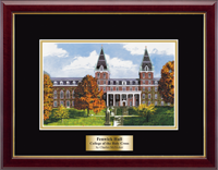College of the Holy Cross Lithogrpah Frame - Framed Lithograph in Gallery