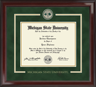 Michigan State University Diploma Frame - Showcase Edition Diploma Frame in Encore