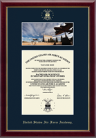 United States Air Force Academy Diploma Frame - Campus Scene Diploma Frame in Gallery