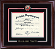 Muhlenberg College Diploma Frame - Showcase Edition Diploma Frame in Encore
