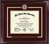 Florida State University Diploma Frame - Showcase Edition Diploma Frame in Encore