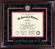 The University of Oklahoma Diploma Frame - Showcase Edition Diploma Frame in Encore