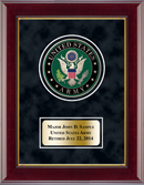 United States Army Award Frame - U.S. Army Masterpiece Medallion Award Frame in Gallery