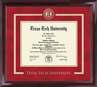Texas Tech University Diploma Frame - Showcase Edition Diploma Frame in Encore