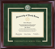University of North Texas Diploma Frame - Showcase Edition Diploma Frame in Encore
