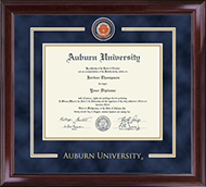 Auburn University Diploma Frame - Showcase Edition Diploma Frame in Encore