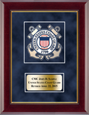 United States Coast Guard Award Frame - U.S. Coast Guard Masterpiece Medallion Award Frame in Gallery