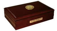 Cornell University Desk Box - Gold Engraved Medallion Desk Box