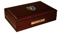 East Tennessee  State University Desk Box - Masterpiece Medallion Desk Box