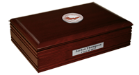 Oklahoma Christian University Desk Box - Masterpiece Medallion Desk Box