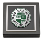 Cleveland State University Paperweight - Masterpiece Medallion Paperweight