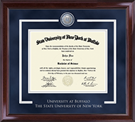 University at Buffalo Diploma Frame - Showcase Edition Diploma Frame in Encore